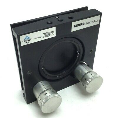 "Aerotech AOM105-2 Laser Turning Mirror 2"" ±5° X&Y Adjustment Max 1.064m @ 45°"