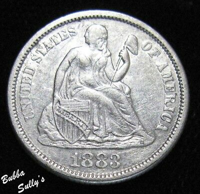 1883 Seated Liberty Dime <> EXTREMELY FINE