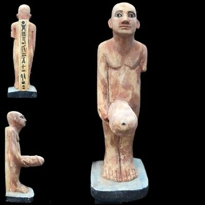 BEAUTIFUL ANCIENT HUGE EGYPTIAN PHALLIC STATUETTE 300 BC (4) 20cm Tall !!!!!