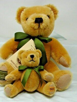 Lot 2 Pure Mohair Merrythought Jointed Teddy Bears