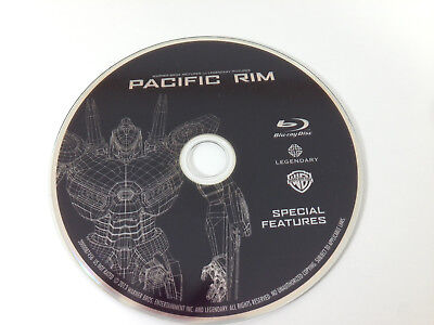 Pacific Rim Special Features - Blu Ray Disc Only - Replacement Disc
