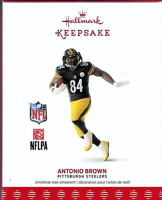 Antonio Brown Pittsburgh Steelers Hallmark Keepsake  2017 NFL Ornament
