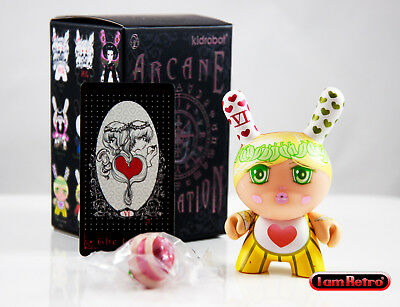 "Wheel of Fortune Arcane Divination Dunny Series 3/"" Vinyl Figure Kidrobot New"