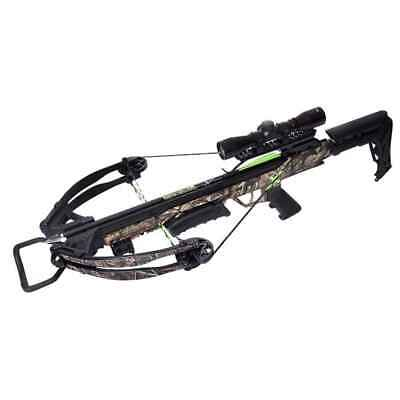 Carbon Express X-Force Blade Crossbow Kit-Ready to Hunt Camouflage - 20244
