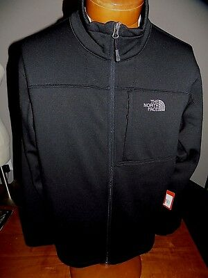 NWT Men's The North Face 200 Cinder Full Zip Jacket Size Large TNF BLACK  $99