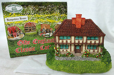 "Vtg 1994 ""HAMPSHIRE HOUSE"" OLDE ENGLAND'S CLASSIC COTTAGES Figurine Decor"