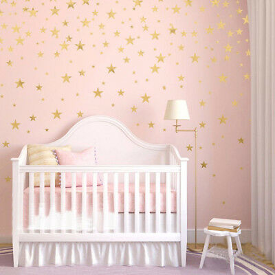 110pc Multi Sized Star Wall Stickers Baby Room Decals Bedroom Vinyl Decor Cn42 Home Decor Edemia Home Garden
