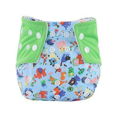 Baby diaper Infant Printed Cloth Diapers Reusable Nappy Washable Snap Nappy drop