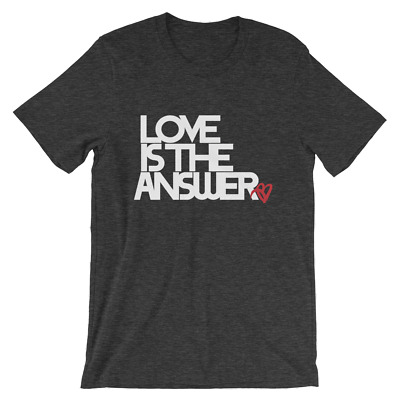 Authentic Love Is The Answer™ Short-Sleeve Unisex T-Shirt
