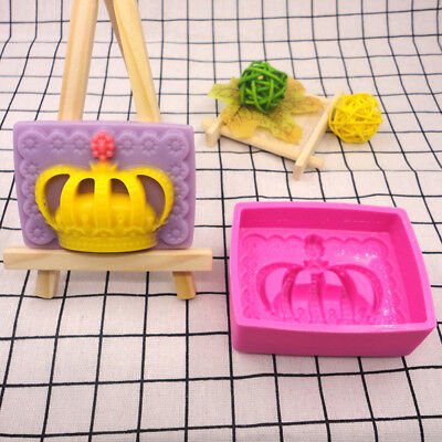 3D Silicone Ice Cube Candy Chocolate Cake Cookie Cupcake Soap Molds Mould JR