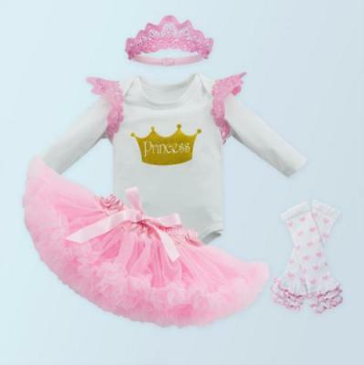 """Reborn Baby Girl Doll Clothes Dress Newborn Dress Set Kids Gifts For 20-22"""" Gift"""