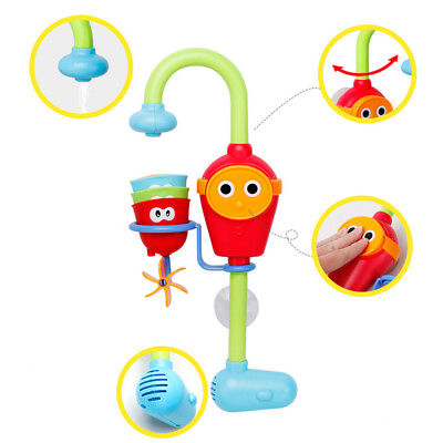 Baby Gift Cartoon Yookidoo Flow Spout Bath Learning Kid Toys Sprinkler Shower UK