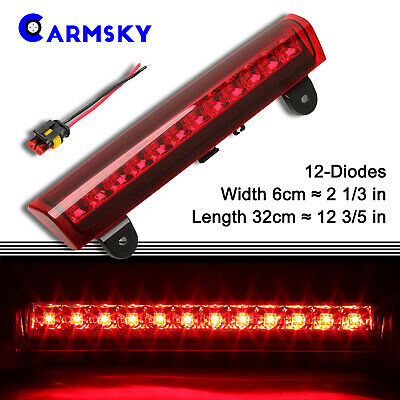 Red Rear 3rd LED Brake Light For 2000-2006 Chevy Tahoe Yukon Suburban Cargo Lamp