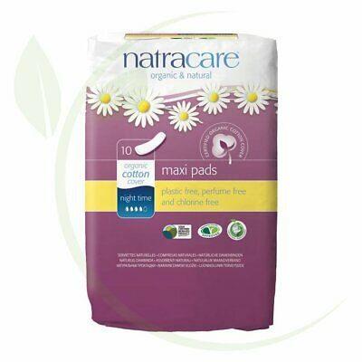 NATRACARE - Maxi Pads Night Time 10