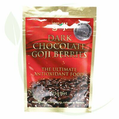 NATURALLY GOJI - Goji Berries Dark Chocolate 125g