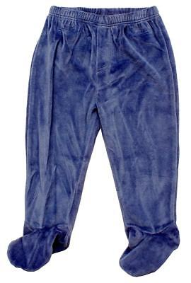 Baby BLUE Fleece Pull on Pants Trousers Bottoms Early Prem to 12 Months