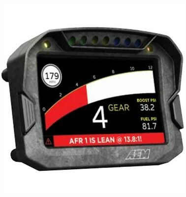 AEM 30-5600 CD-5 Digital Display Racing Dash Carbon Fiber Composite Case Non-Dat