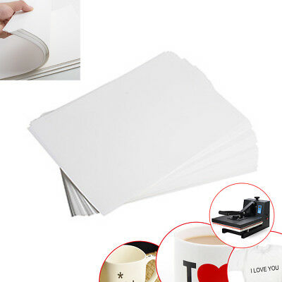 FDA 100 * A4 Dye Sublimation Heat Transfer Paper f/ Mug Cup Plate T-Shirt 【USA】