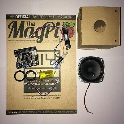 Google AIY Voice Kit Inc MagPi Issue 57 For Raspberry Pi UK (Xmas Delivery)