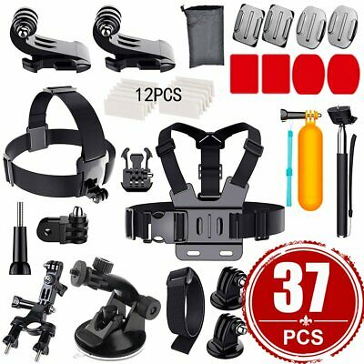 Accessories Pack Kit Head Chest Monopod Bike Surf Mount for GoPro Hero 7 6 5 4 3