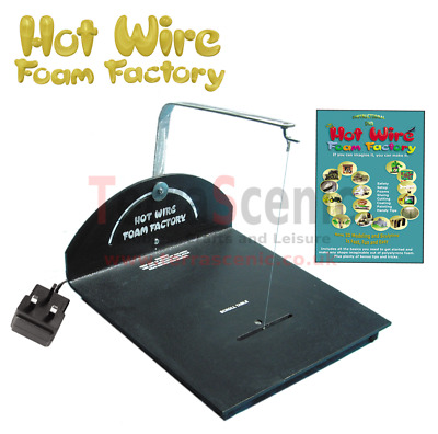 Hot Wire Foam Factory Polystyrene EPS Cutter Scroll Table Crafters Kit