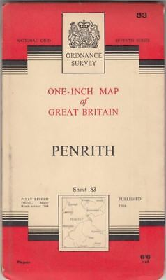 One-Inch Map of Great Britain Sheet 83 Penrith :