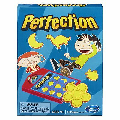 NEW Perfection Game THE PERFECTIONGAME BY HASBRO GAMING