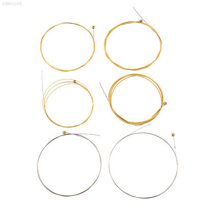 28B6 1 Set 6 Steel Strings For Electric Guitar 150XL Replacement 0.813MM 1.016MM