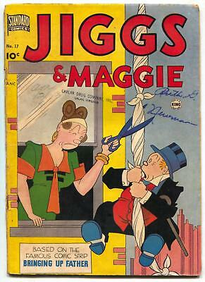 Jiggs and Maggie #17 1951- Bringing Up Father VG