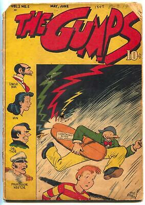 The Gumps #2 1947- Golden Age comic book- reading copy
