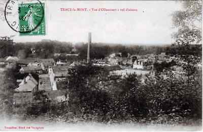 60 / Tracy Le Mont  / Vue D'ollencourt   Animee    1906