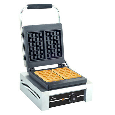 Chefmaster Waffle Iron Maker - HEB081 Commercial Catering