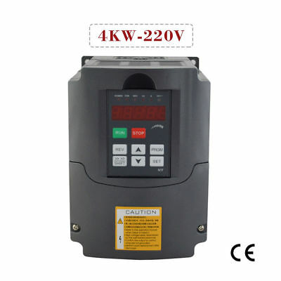 USED HY BRAND 4KW 220V 5HP Variable Frequency Drive Inverter VFD