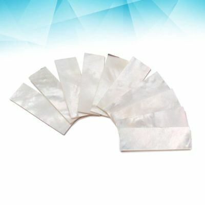 DIY Inlays Material For Guitar Neck Fingerboard White Shell Block Guitar Parts