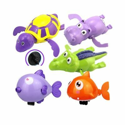 5pcs Pool Bath Wind Up Toys Educational Bathtub Toys for Infants Toddlers Babies