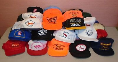 Lot of 41 Fox Hunters Association Baseball Hats Caps Georgia Florida Alabama SC