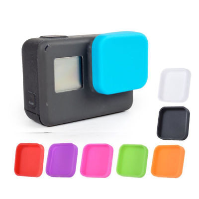 2 X Soft Silicone Protective Lens Cap Case Cover Protector For Gopro Hero 5