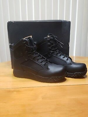Under Armour Black Stellar Tactical Protect Boots - UA Composite Toe Tac Boot