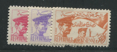 Tunisia Scott # 312-314 Mh Scott Value $ 42.00