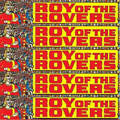 Roy Of The Rovers Football Sports Action Stories Magazines Comics Various Issues