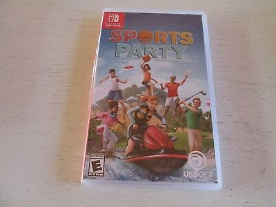 Sports Party (Nintendo Switch). Brand New & Factory Sealed. Free Shipping.