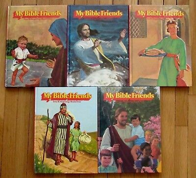 My Bibile Friends - Hardcover 5 Vol - Kid Friendly Fully Illustrated