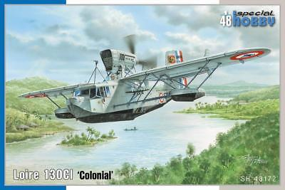 """SPECIAL HOBBY 48172 Loire 130CI """"Colonial"""" in 1:48"""