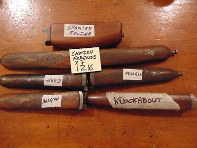 SHOTGUN 12 BORE FORENDS for Spares  Ideal for Gunsmith and Restorers (1216)