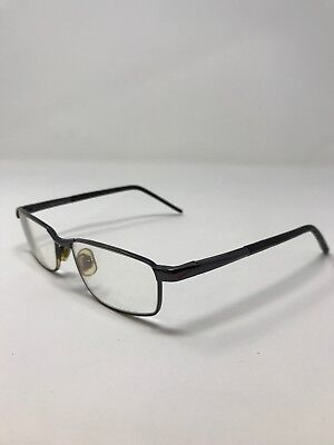 1350c0c0f3 Nike Eyeglass Frames 6025-001 Black 53-16-140 Full Rim Bp28