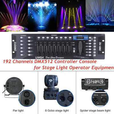 CO-Z 192 DMX 512 Stage DJ Light Controller USED EXCELLENT CONDITION