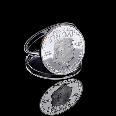 Donald Trump Challenge Coin American 45th President Commemorative Coin SouveniJR