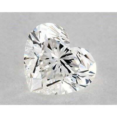 Loose Real Moissanite 1 CT to 5 CT Off White Yellow Heart Diamond Cut, 4 Ring