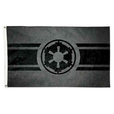 Galactic Empire Symbol Star Wars 3'x5' Deluxe Flag Brand New