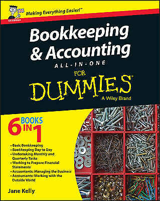 Bookkeeping and Accounting All-in-One For Dummies - UK - 9781119026532